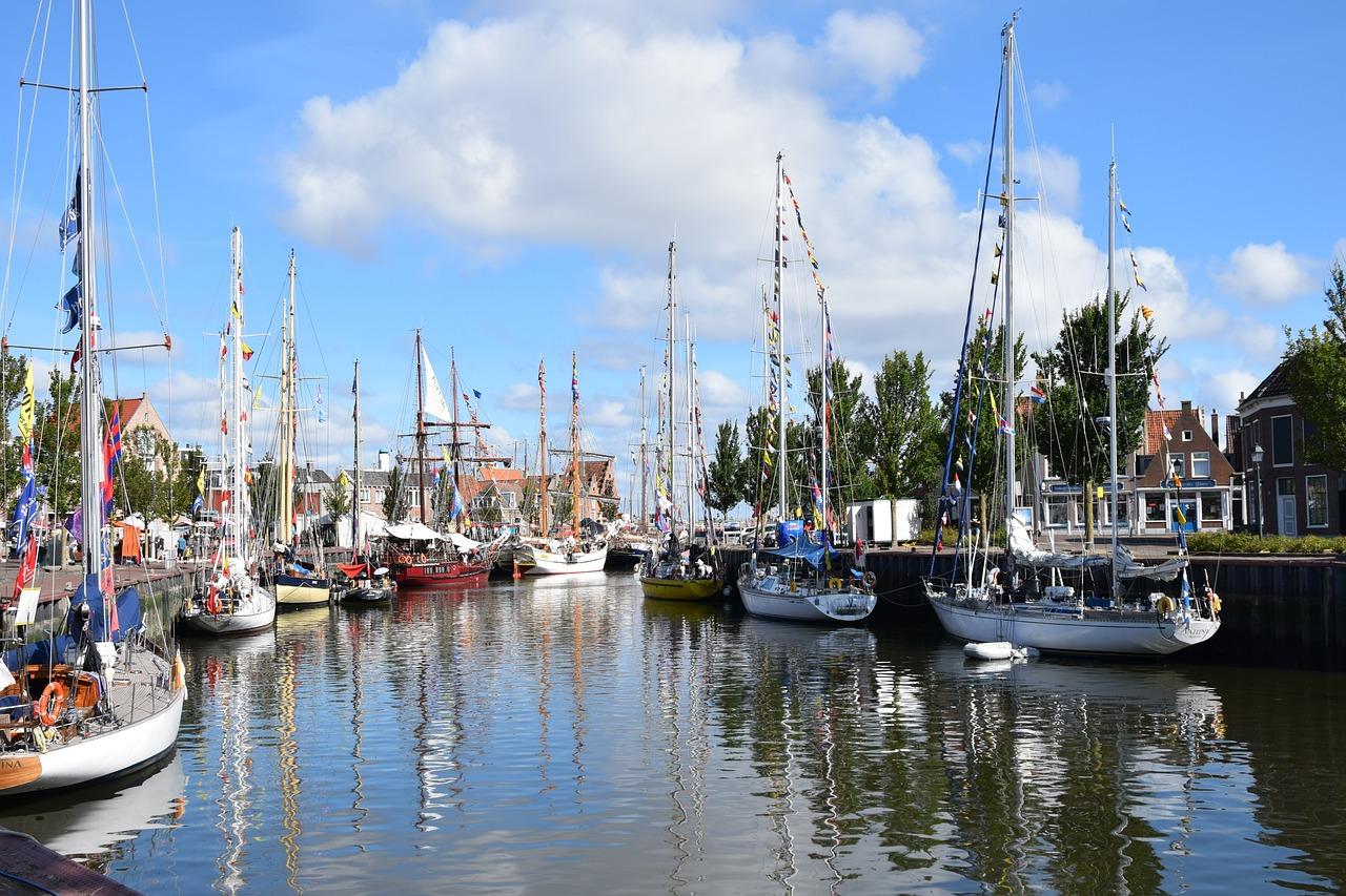 Haven Harlingen Friesland boten