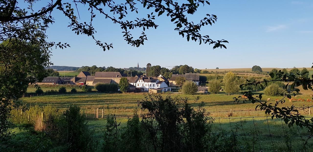 Vakantie Zuid-Limburg landschap heuvels